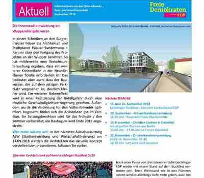 FDP Telegramm September 2018
