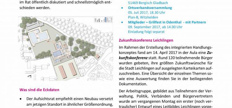 FDP Mitgliederinformation Juni 2017