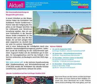 FDP Telegramm September 2018