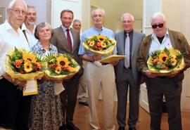 Friedrich Fritz für 40 Jahre FDP geehrt